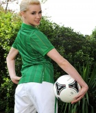 Shannon Reid, blonde, strip, nude, soccer, ass
