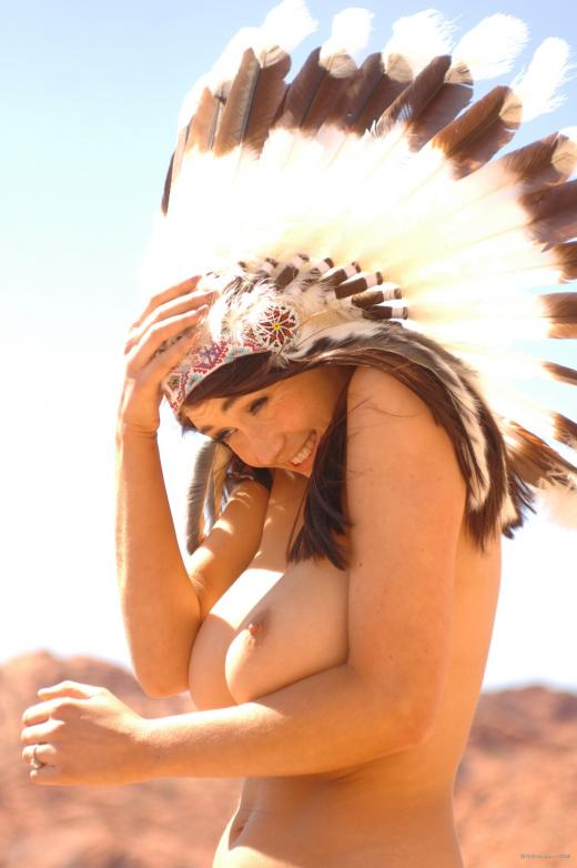 Peta Todd, brunette, topless, native american, busty