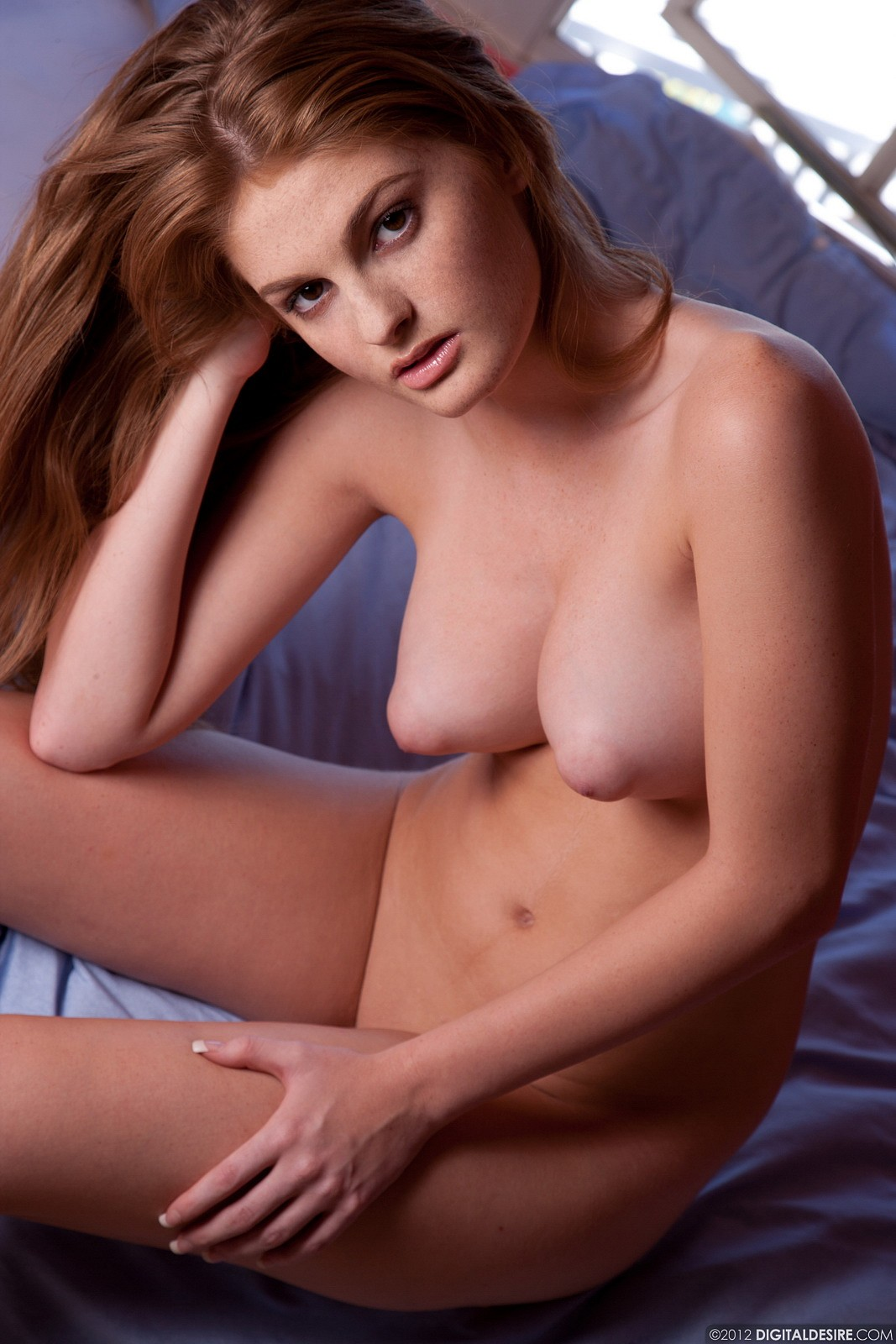 nude puffy Hot nipples redhead
