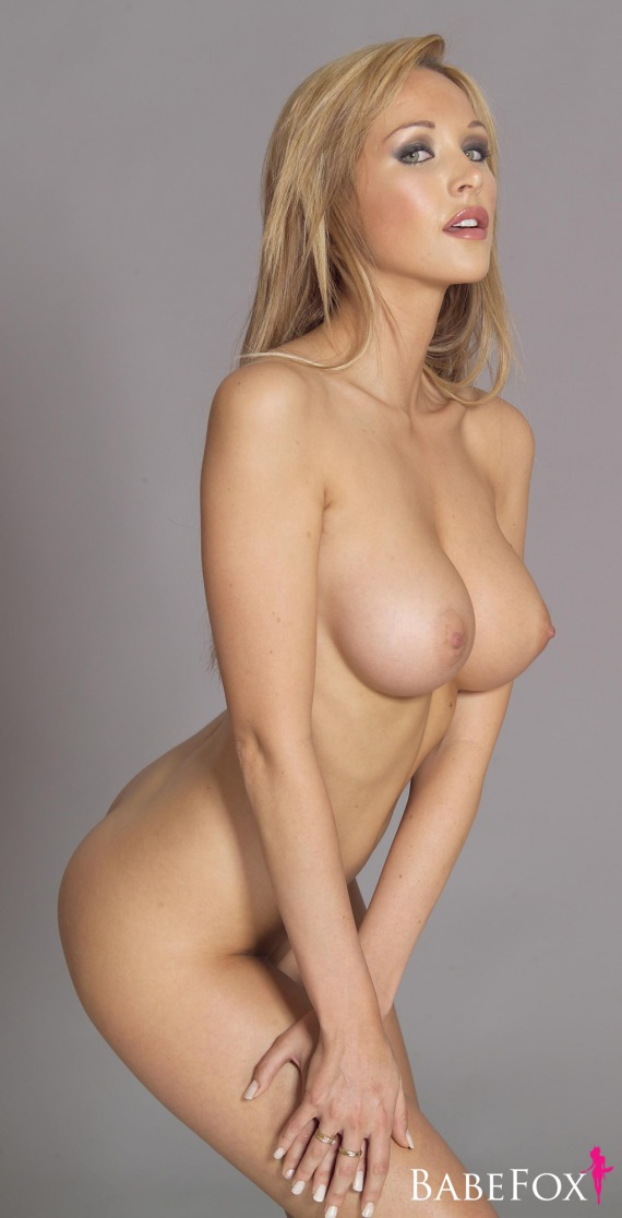 Young Hot blonde nude touches college