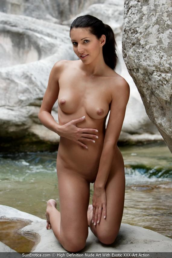 Ass women in water hot nude