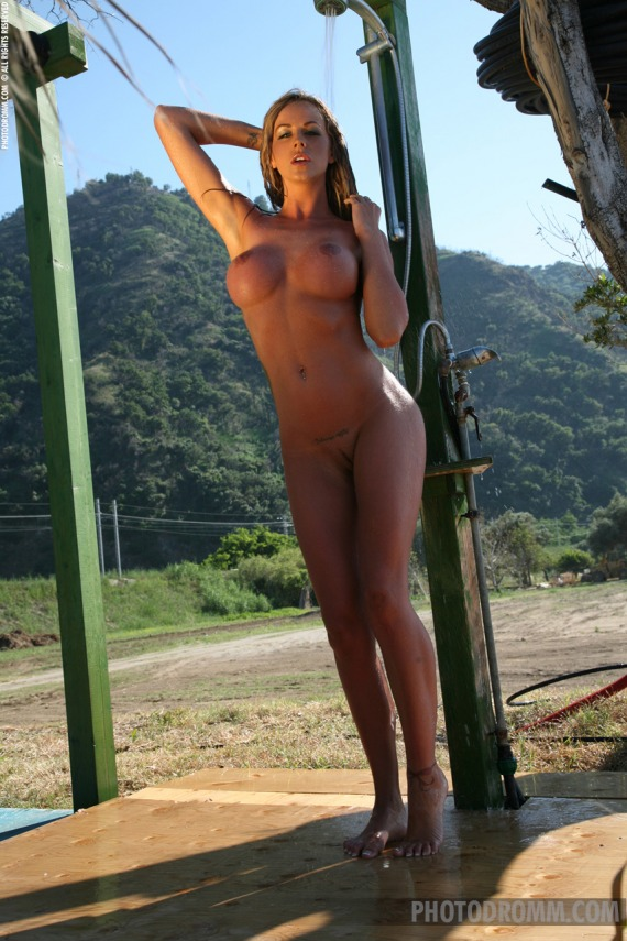 Nude beach showers babe opinion, you