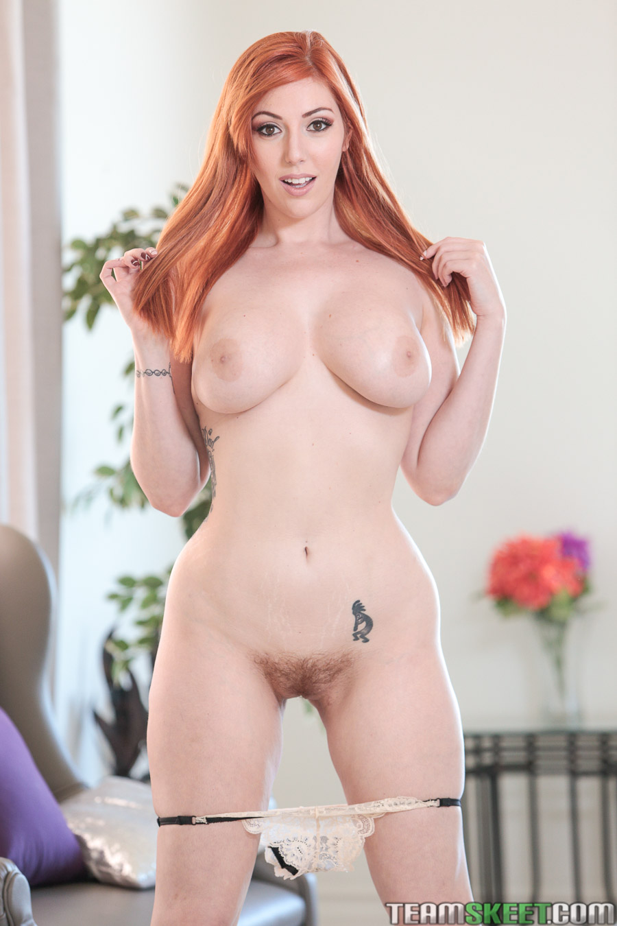 Naked redhead porn star forced have sex