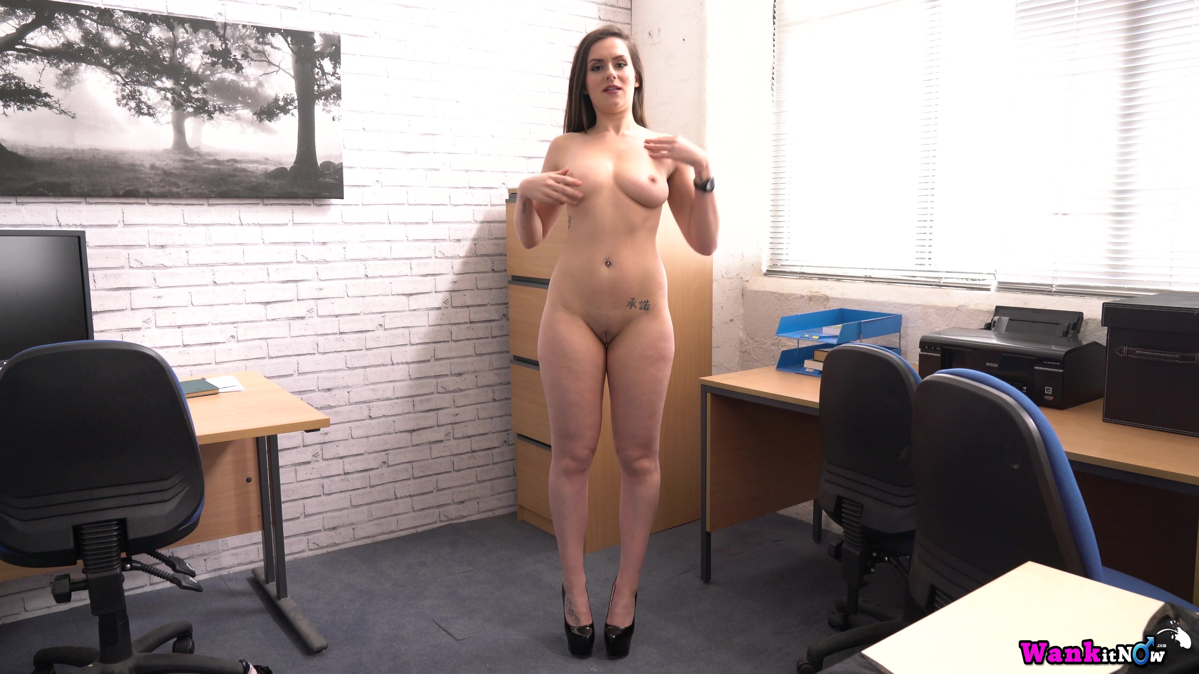Girl in office stripping gallery porn, hot girl on wii fit