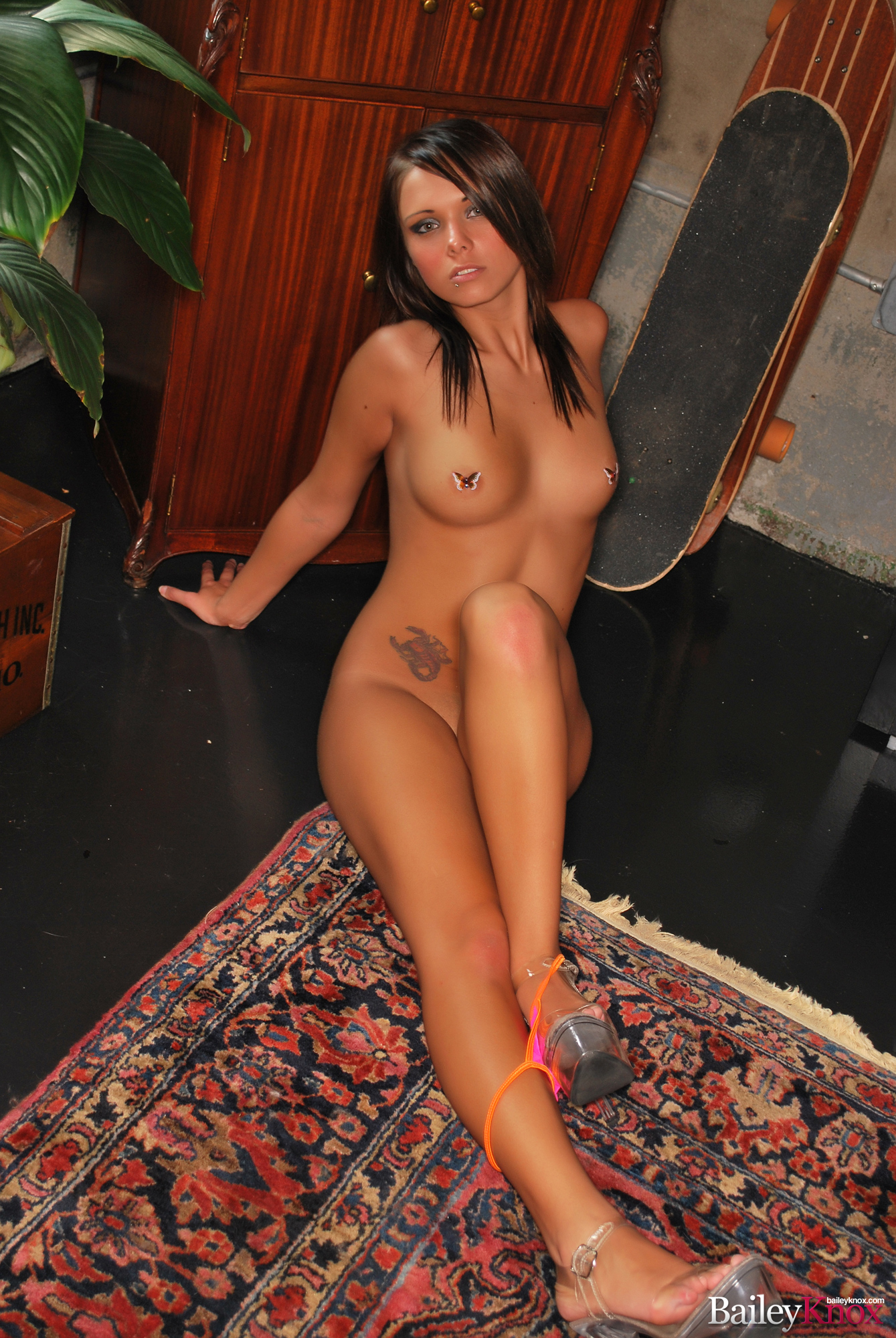 Порно с bailey knox