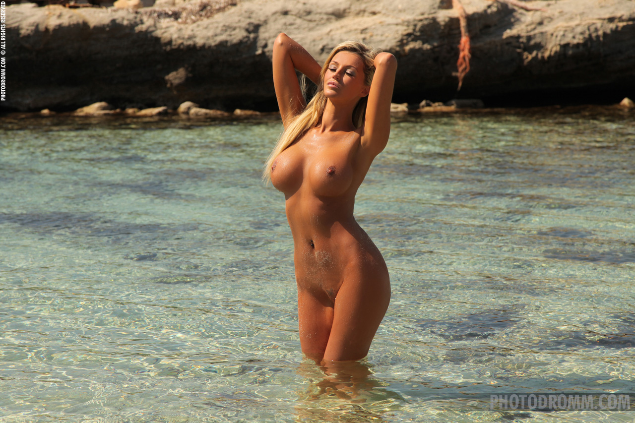 Something Nude on the water