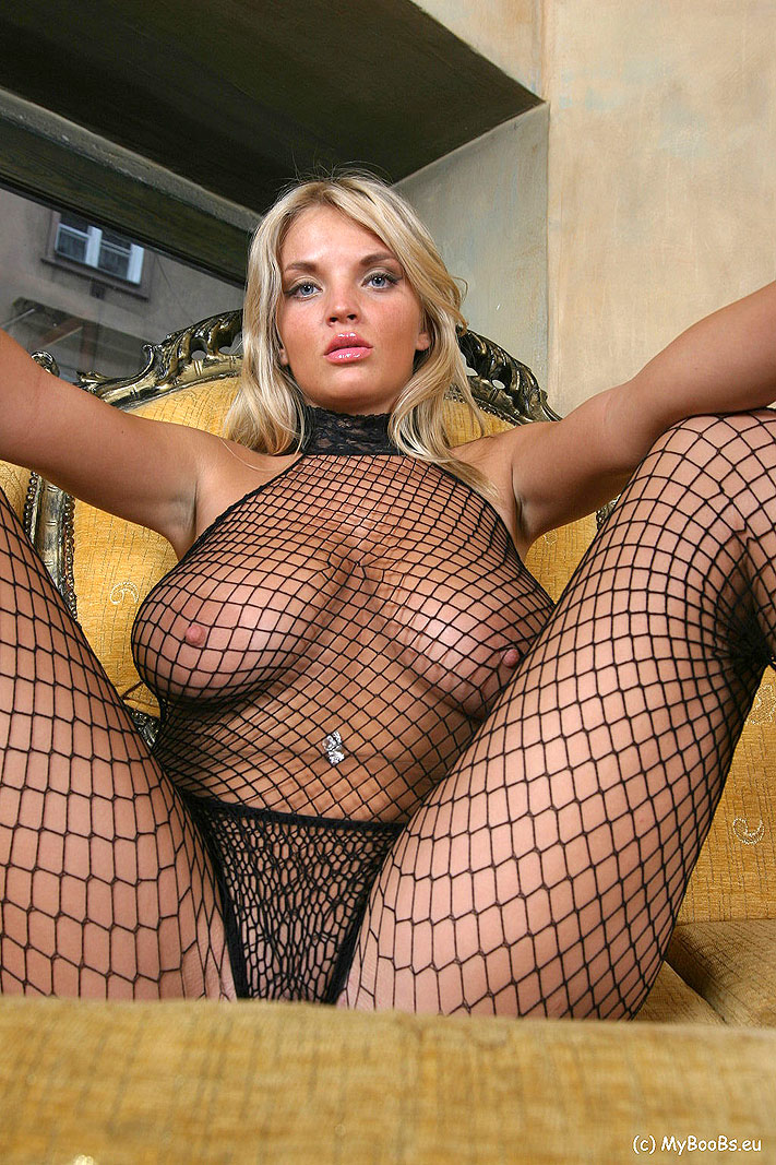 Accept. The fishnet bodystocking big tits
