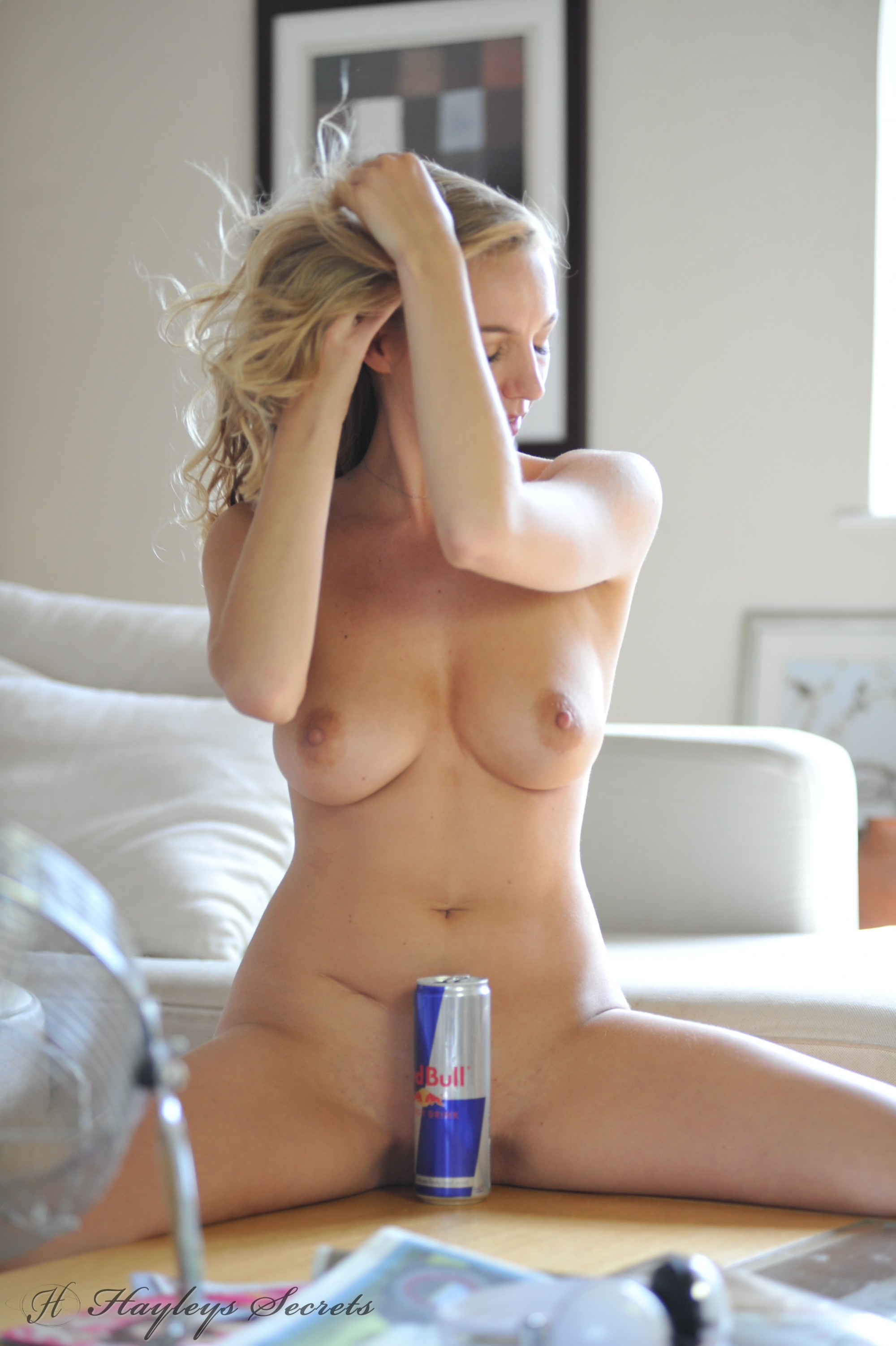 Hayley Marie Strips For A Red Bull - Sexy Gallery Full -4038