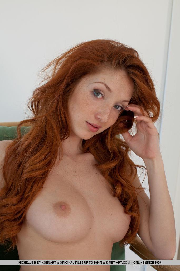 Рыжая порнозвезда мишель