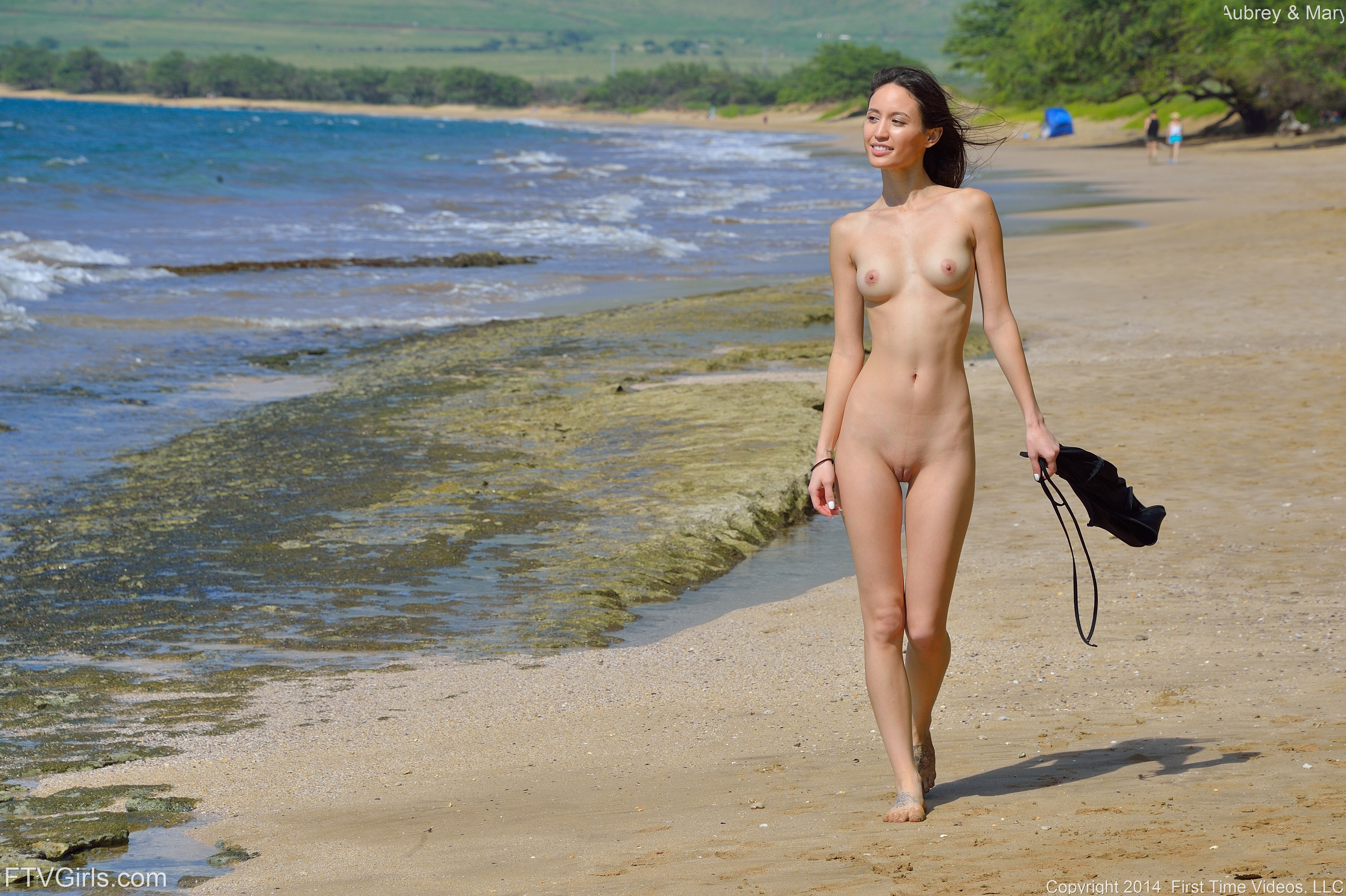 Consider, woman first time nude beach