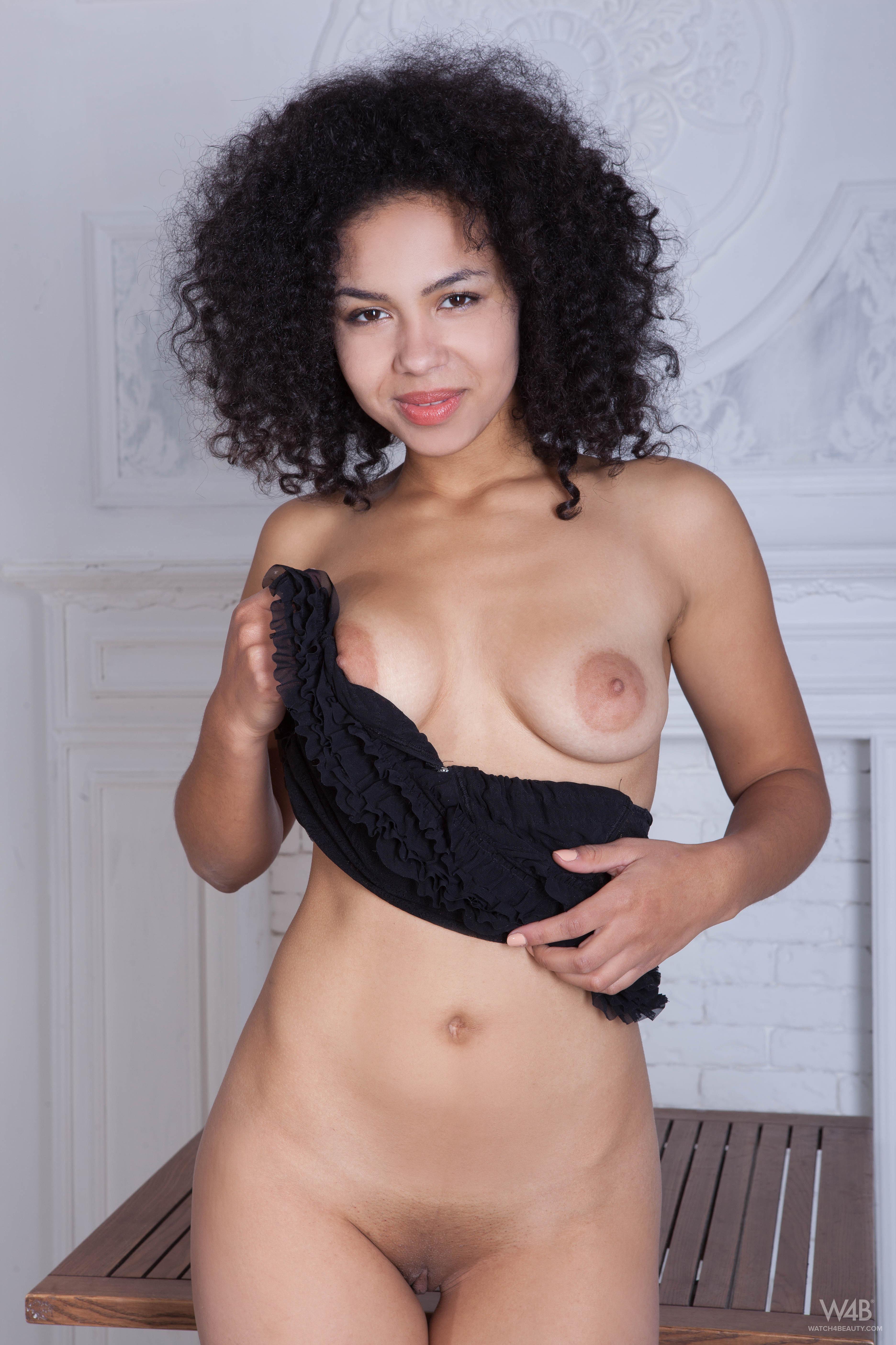 Ebony Curly Hair Porn