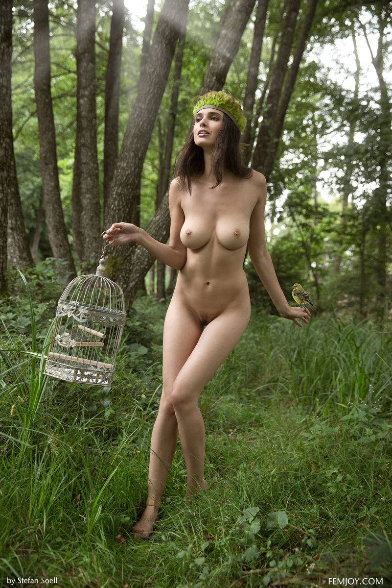 Groups nude girls in the woods think